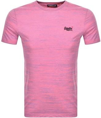Superdry Vintage Short Sleeved T Shirt Pink
