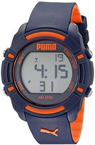 Puma Unisex PU911221002 Bytes Digital Display Analog Quartz Blue Watch