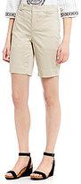 Intro Hannah Solid Sateen Bermuda Shorts