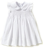 Edgehill Collection Baby Girls 3-9 Months Smocked Bishop Dress
