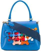 Anya Hindmarch embroidered tote - women - Leather - One Size