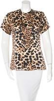 Rodarte Leopard print Short Sleeve Blouse