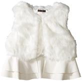 Ella Moss Loren Fur Ruffle Vest (Big Kids)
