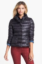T Tahari 'Sandra' Bib Front Packable Quilted Jacket