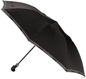 Alexander McQueen Skull Handle Logo Print Umbrella