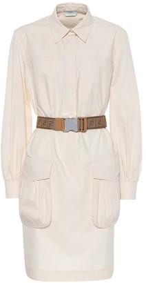 Fendi Cotton shirt dress
