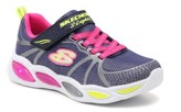 Skechers S Lights Shimmer Beams Sporty Glow Light-Up Sneaker - Kids'