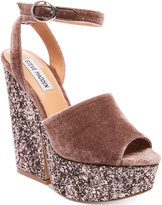 Steve Madden Women's Fabian Platform Wedge Sandals