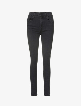 Mother The Looker high-waisted stretch-denim jeans