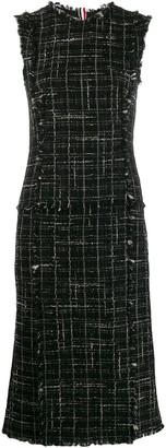 Thom Browne Tweed Pencil Dress