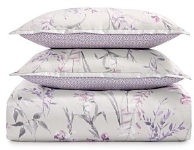 Sky Ikat Floral Duvet Cover Set, Twin - 100% Exclusive