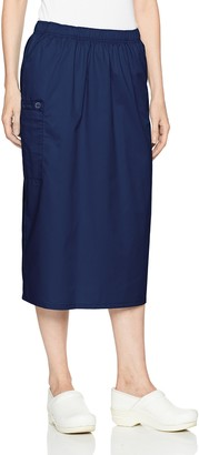 WONDERWINK Women's Wonderwork Pull-on Cargo Scrub Skirt