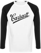 Carhartt Strike Long Sleeve T Shirt White