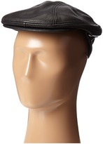 Stetson Distressed Leather Ivy Cap