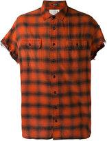 R 13 short sleeve shirt - men - Cotton - XS
