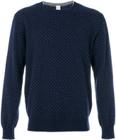 Eleventy dots pattern sweatshirt - men - Cashmere - M