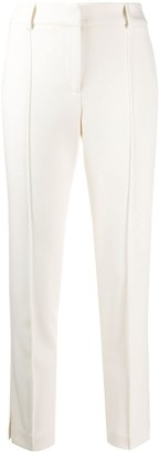 Veronica Beard High-Waisted Piped Seam Trousers