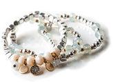 Oasis Frosted Bracelet Set
