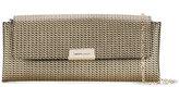 Emporio Armani high shine shoulder bag - women - Cotton/Leather/Polyurethane - One Size