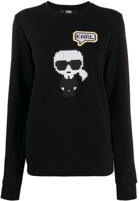 Karl Lagerfeld Paris Pixel sweatshirt