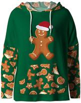 Green Holiday Cookie Hoodie - Women & Plus