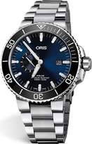 Oris Aquis Small Second, Date Dial 45.5mm Stainless Steel Men's Watch