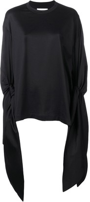Marques Almeida knotted sleeve T-shirt