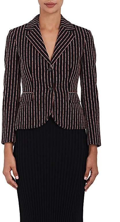 Altuzarra WOMEN'S TRINITY EMBROIDERED TWO-BUTTON BLAZER
