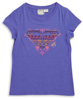 Roxy Girls 7-16 Logo Applique Tee