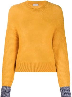Mrz Contrast-Cuff Knit Jumper