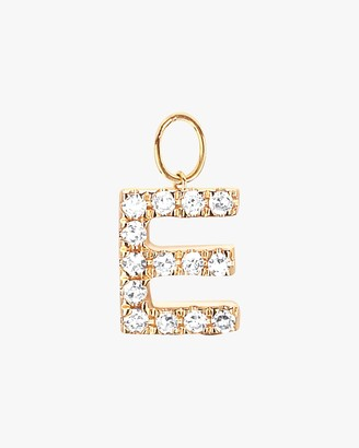 Ef Collection Initial Huggie Charm