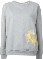 Each X Other floral embroidered sweatshirt
