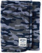 Carter's Camo-Print Plush Blanket, Baby Boys