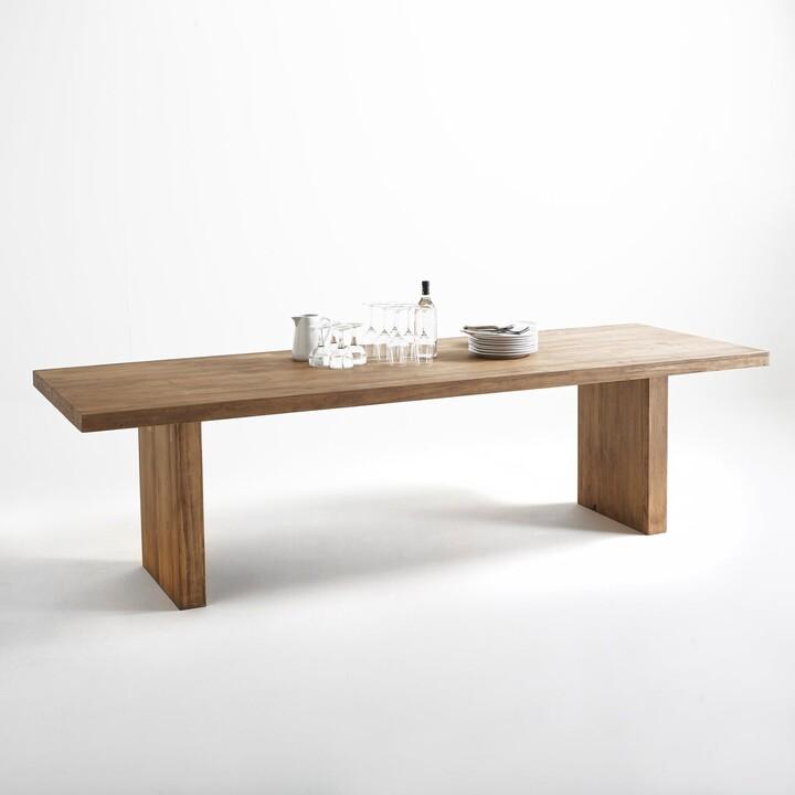 La Redoute Interieurs Malu Rectangular Dining Table Seats (8-10)