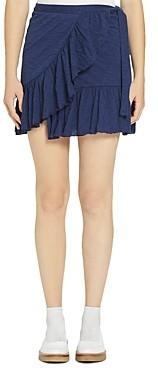 Goldie Ruffled Wrap Mini Skirt