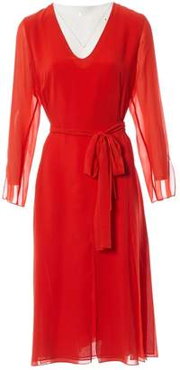 Akris Red Silk Dresses