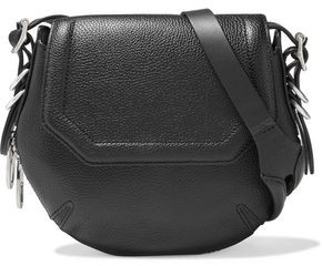 Rag & Bone Bradbury Mini Zip-detailed Pebbled-leather Shoulder Bag