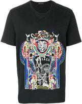 Versace Triptych print T-shirt