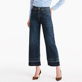 Point Sur culotte jean in Blue Poppy wash