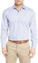 Tailorbyrd Men's Boxwood Print Sport Shirt