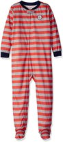 """Carter's Little Boys' Toddler """"Great Catch"""" Footed Pajamas"""