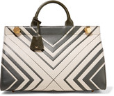Anya Hindmarch Ephson printed textured-leather tote
