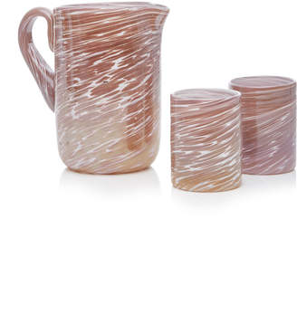 Bisanzio Pitcher And Glass Set