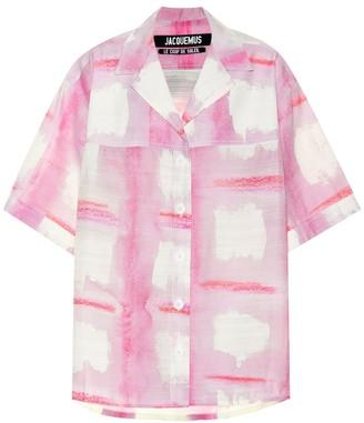 Jacquemus La Chemise Vallena shirt