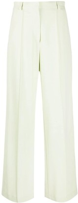 Nanushka High-Waisted Wide-Leg Trousers