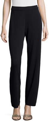 Joan Vass Interlock Full-Length Jog Pants