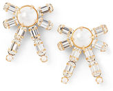 Ralph Lauren Bow Crystal Earrings