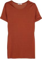 Alexander Wang Satin-jersey T-shirt