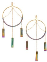 Vanessa Mooney Women's The Meadows Hoop Earrings