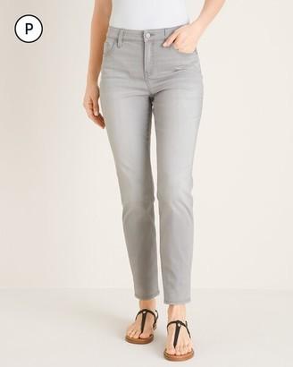 So Slimming Petite Girlfriend Ankle Jeans